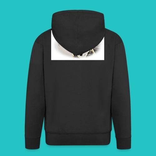 Bluza Wilk - Rozpinana bluza męska z kapturem Premium