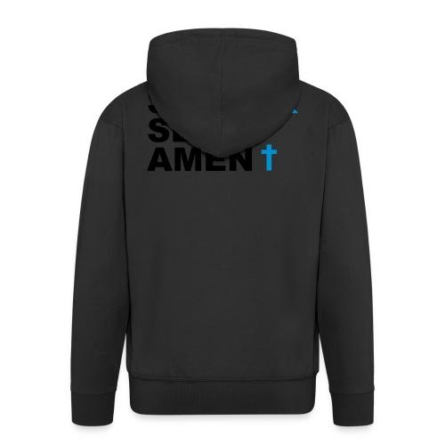 Staatsexamen / Staat Sex Amen - Männer Premium Kapuzenjacke
