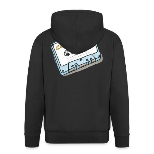 Cassette - Männer Premium Kapuzenjacke