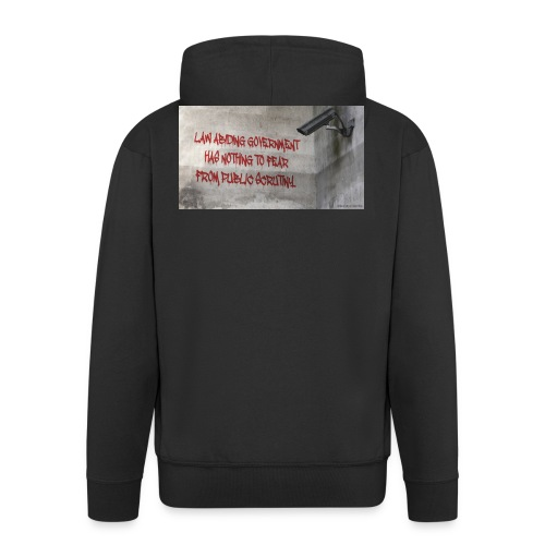 Nothing to Fear - Men's Premium Hooded Jacket