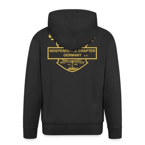 Support Indis gold - Männer Premium Kapuzenjacke