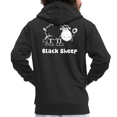 Schwarzes Schaf, Black Sheep - Männer Premium Kapuzenjacke