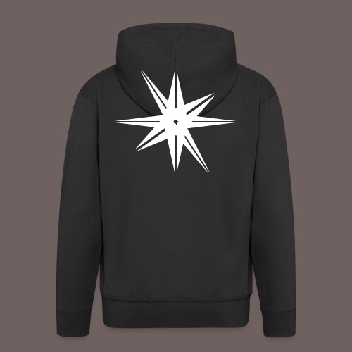 GBIGBO zjebeezjeboo - Rock - Octa Star Blanc - Veste à capuche Premium Homme