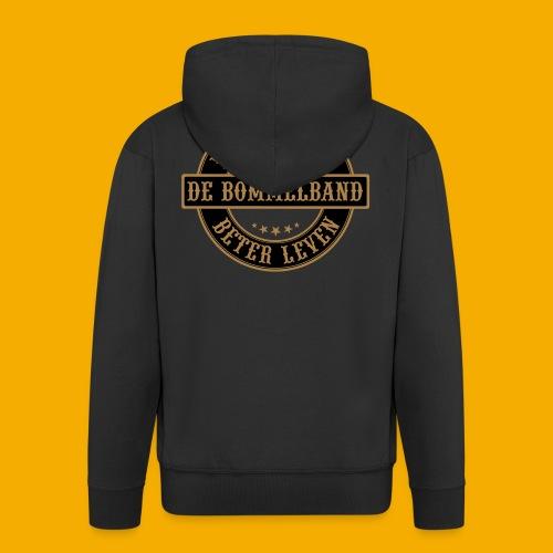 bb logo rond shirt - Mannenjack Premium met capuchon