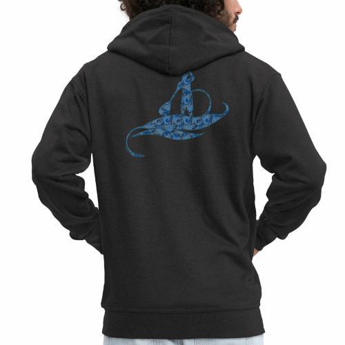 Blue Ocean - Veste à capuche Premium Homme