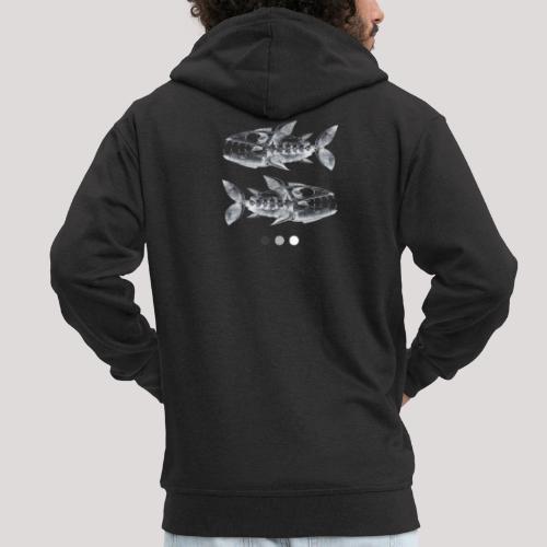 Fish05 - Men's Premium Hooded Jacket