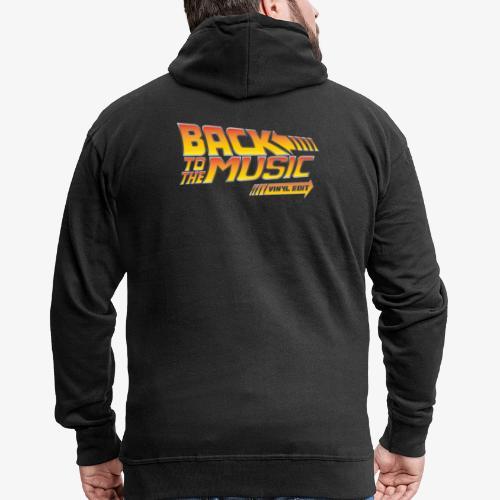 Back to the music Vinyl Edit - Veste à capuche Premium Homme