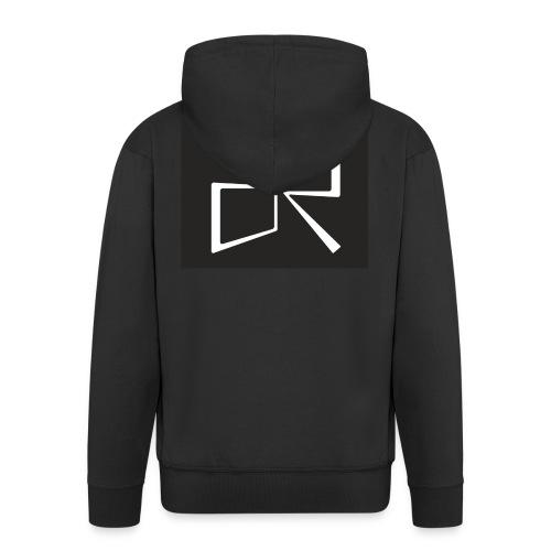 Rymdreglage logotype (RR) - Men's Premium Hooded Jacket