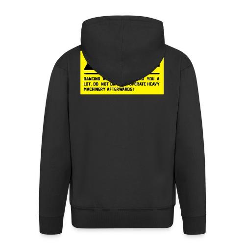 Caution - Männer Premium Kapuzenjacke