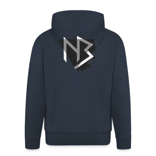 T-shirt NiKyBoX - Felpa con zip Premium da uomo