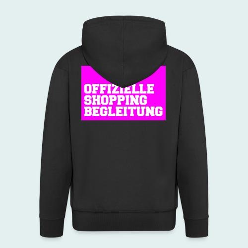 Offizielle Shopping Begleitung Damenshirt - Männer Premium Kapuzenjacke