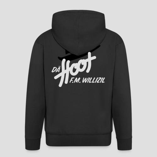 daeHoot_Shirt_Logo1_2c - Männer Premium Kapuzenjacke