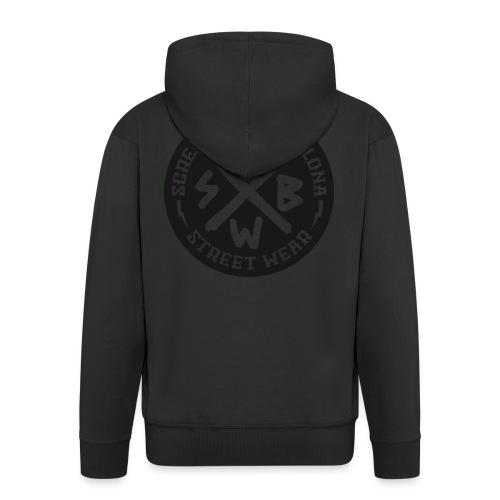 BASIC LOGO SWEATSHIRT BLACK - Chaqueta con capucha premium hombre