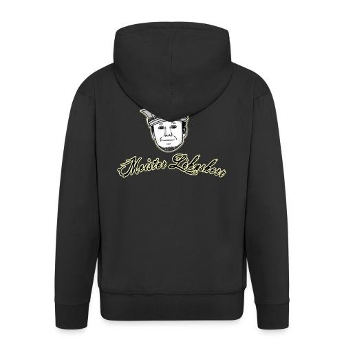 Meisterlehnsherr-black - Men's Premium Hooded Jacket