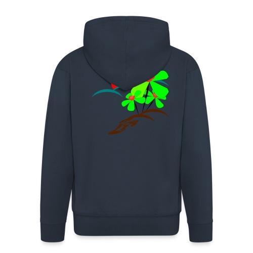 Berry - Men's Premium Hooded Jacket