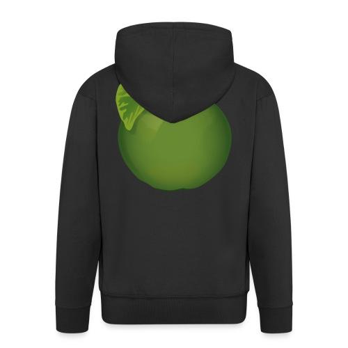 Apfel Pomme Apple - Männer Premium Kapuzenjacke