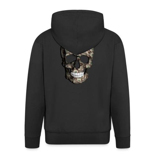 Skull Money Black - Chaqueta con capucha premium hombre