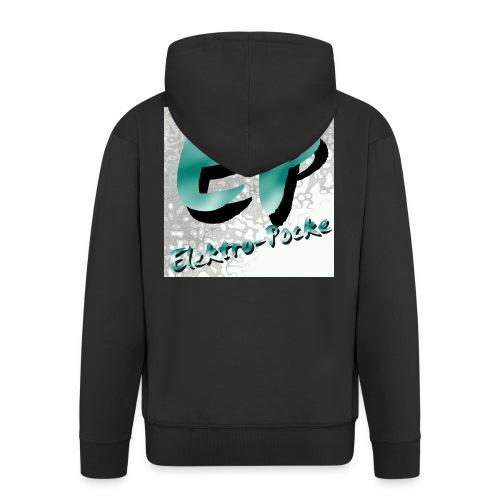 Elektro-Pocke T-Shirt Premium - Männer Premium Kapuzenjacke