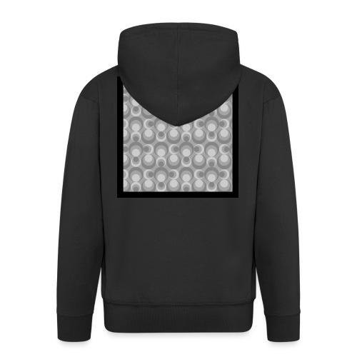 70th telly T-shirt V-Ausschnitt - Männer Premium Kapuzenjacke