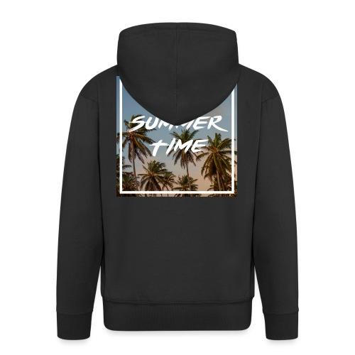 summertime - Männer Premium Kapuzenjacke