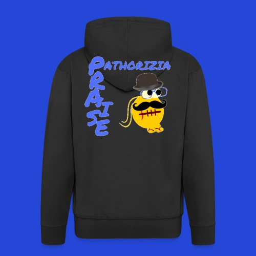 PraisePathorizia - Felpa con zip Premium da uomo