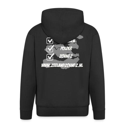Mosselen - Polder - ZoundZ #girlZ edition - Mannenjack Premium met capuchon