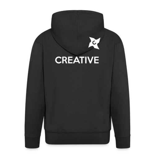 Creative simple black and white shirt - Herre premium hættejakke