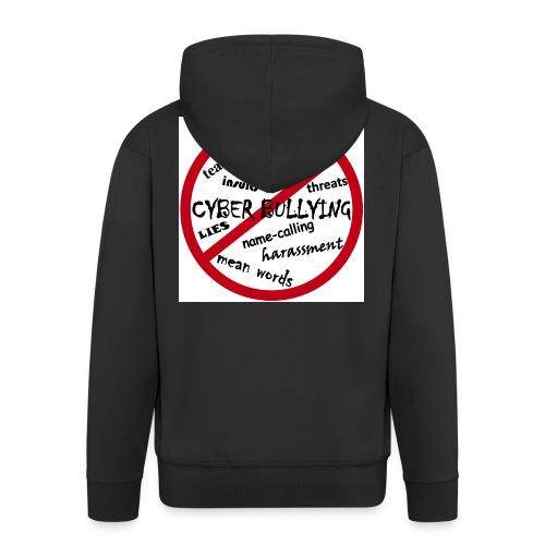 anti-bullying armour - Men's Premium Hooded Jacket
