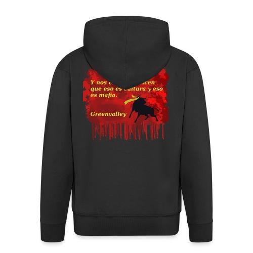 Tauromaquia - Chaqueta con capucha premium hombre