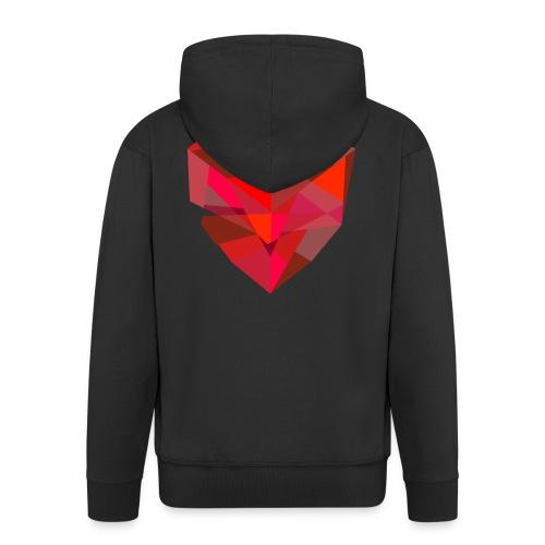 Poly-Heart - Chaqueta con capucha premium hombre