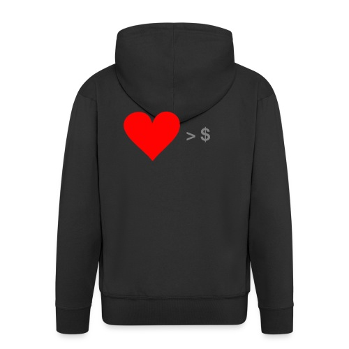 Social Business Shirt - Männer Premium Kapuzenjacke