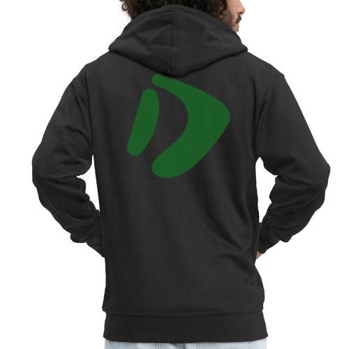 Logo D Green DomesSport - Männer Premium Kapuzenjacke