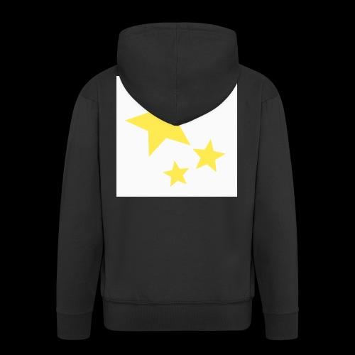 Dazzle Zazzle Stars - Men's Premium Hooded Jacket