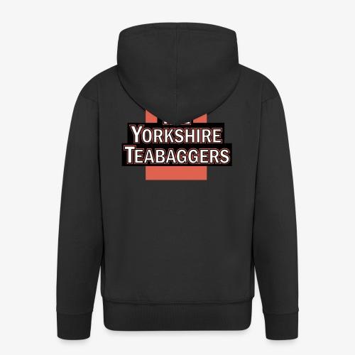 The Yorkshire Teabaggers - Men's Premium Hooded Jacket