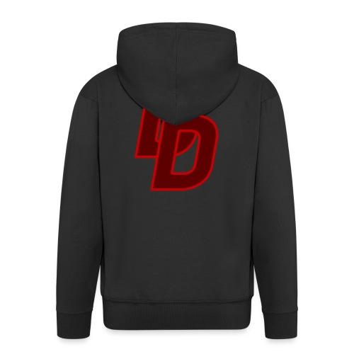 Daredevil Logo - Men's Premium Hooded Jacket
