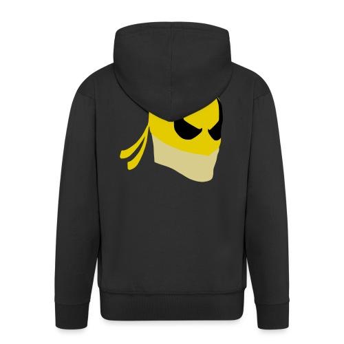Iron Fist Simplistic - Men's Premium Hooded Jacket
