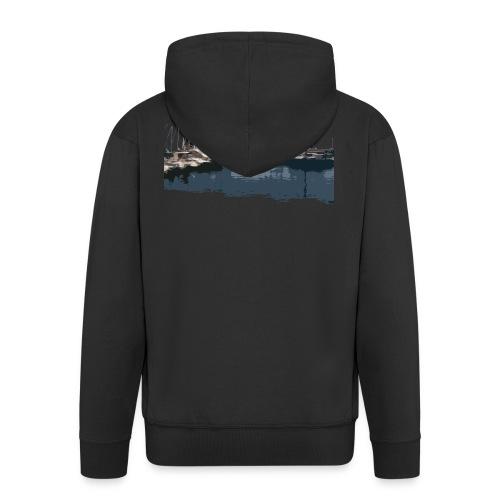 Schiffe - Männer Premium Kapuzenjacke
