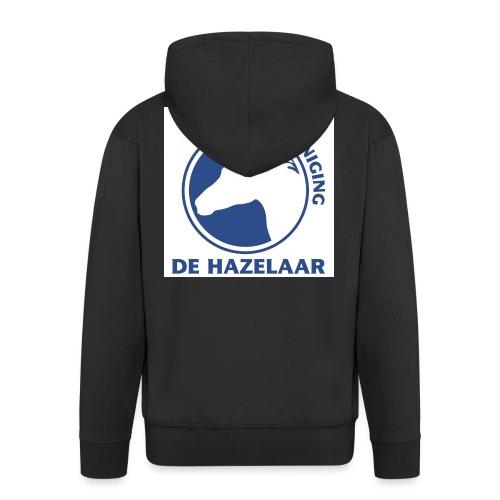 LgHazelaarPantoneReflexBl - Mannenjack Premium met capuchon