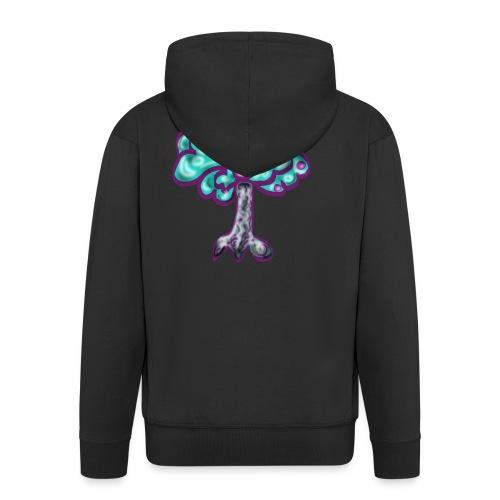 Neon Tree - Men's Premium Hooded Jacket