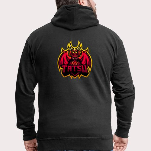 Tatsu Music Full Logo - Men's Premium Hooded Jacket