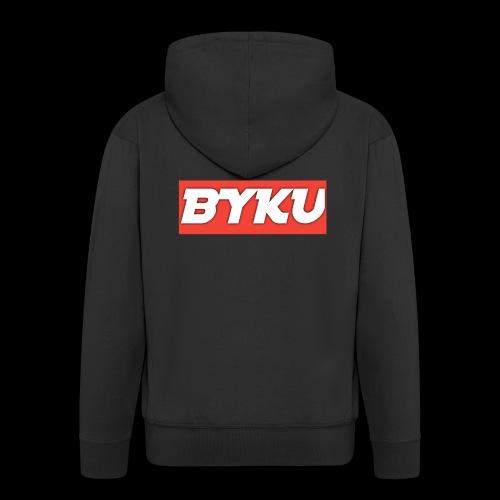 BYKUclothes - Rozpinana bluza męska z kapturem Premium