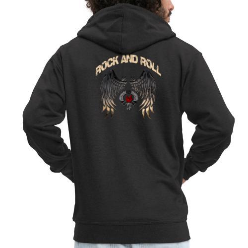 Rock and Roll - Chaqueta con capucha premium hombre