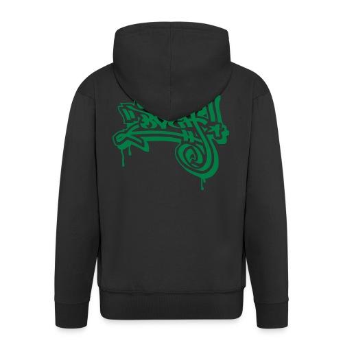 Graffiti Ultras Fan Shirt - Männer Premium Kapuzenjacke