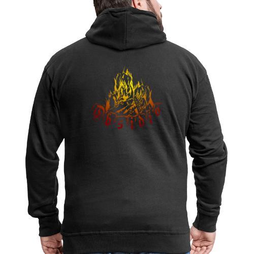 Obsidio Feuer - Männer Premium Kapuzenjacke