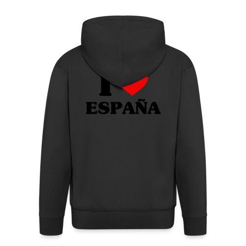 I love Espana - Männer Premium Kapuzenjacke