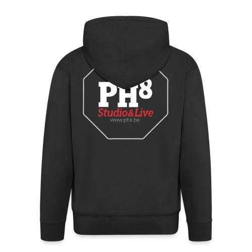 PH8 site logo - Veste à capuche Premium Homme