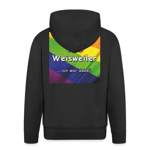 Erster CSD Weisweiler - Männer Premium Kapuzenjacke
