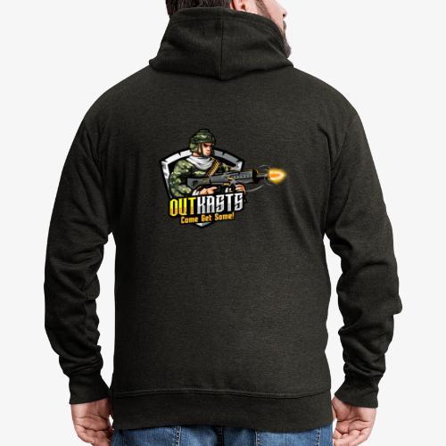 OutKasts [OKT] Logo 2 - Men's Premium Hooded Jacket