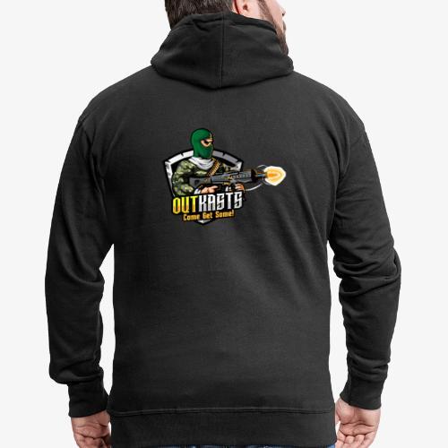 OutKasts [OKT] Logo 1 - Men's Premium Hooded Jacket