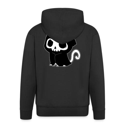 Sensenmann Katze Miau - Männer Premium Kapuzenjacke
